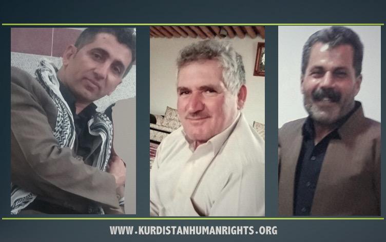 Security forces detain seven Kurdish civilians in Iran's West Azerbaijan province.